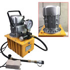 110V Electric Driven Hydraulic Pump Single Acting Solenoid Control 10000psi US