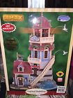 2006 LEMAX Christmas Village BAY VIEW LIGHTHOUSE Rotating Light PLYMOUTH CORNERS