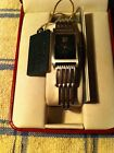 Paolo GUCCI Watch NEW in Case BEAUTIFUL LADIES Silver