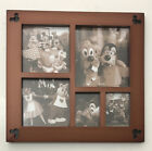 Disney Parks Mickey Mouse Icon Wood Multi Window Photo Picture Frame RARE