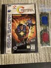 Contra Legacy of War Sega Saturn 1997 3 D Glasses Included Mint Condition