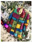 NEW Dolly Parton Coat of Many Colors Christmas Ornament Rare Dollywood Exclusive