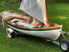 16 Wooden Sailboat with Trailer Beautiful Condition