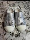 Native Shoes Silver Glitter Toddlers Size 11