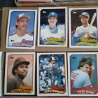 1989 TOPPS BASEBALL COMPLETE SET (792) TRADED SET NM MINT GRIFFEY JR RC (41T)...