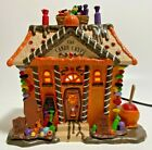 Lemax Sugar N Spice The Candy Crypt Lighted Halloween House Spooky Village House