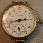 Vintage ZENITH Signal Corps WWI Military Watch Triple Signed Fully Serviced