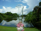 RARE  UNUSUAL ZIMMERMAN ST CLAIR GLASS 10 BLOWN PAPERWEIGHT PITCHER OR VASE