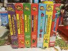 Magic School Lot Of 7 VHS Inside Ralphie Gets Eaten Blows Its Top Goes To Se