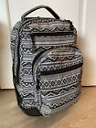 Used Tribal Jworld Rolling Backpack Wheeled Laptop Backpack two Stains Inside
