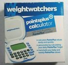 Weight Watchers Points Plus Calculator Daily  Weekly Tracker Box and User Guide