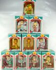 Precious Moments Christmas Ornaments Lot of 10 1995 Home For The Holidays