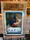 2009 Bowman Chrome Auto X-Fractors Freddie Freeman RC BGS 9.5 10 Rookie 213 250