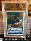 2009 Bowman Chrome Auto Refractors Freddie Freeman RC BGS 9.5 10 Rookie 468 500
