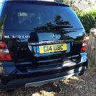 LARGER PHOTOS: Mercedes ML 320 CDI Sport with personalised number plate