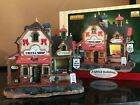 LEMAX Harvest Crossing ~ JENNY'S COFFEE SHOP / ICE CREME PARLOR ~ Village EUC!