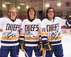 Foil Up with Hanson Brothers Hockey Cards 20