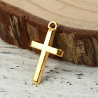 20pcs Lot Charms Christian Cross Gold Beads Pendant BUY 2 GET 5 OFF