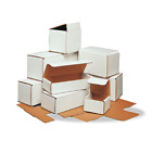8x8x8 White Corrugated Mailers Many Sizes Shipping Packing Boxes Mailers Box
