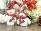 Hanna's Handiworks Mint McMittens Snowman Ornament, Choose Your Style (10096)