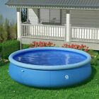Avenli 12ft x 36in Easy Set Inflatable Above Ground Family Swimming Pool Large