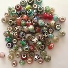 MURANO GLASS EUROPEAN BEADS SPACERS CHARMS JEWELRY MAKING