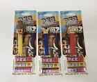 SEALED LOT OF 3 - Ice Age 2 Meltdown PEZ Dispensers - Manny Sid Scrat