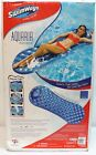 SwimWays Blue Foam Swimming Pool Float Unsinkable Adult Lounge Raft