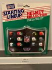 1989 Kenner Starting Lineup AFC/NFC Helmet collections.