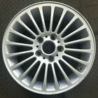 17 BMW 3 SERIES FACTORY OEM SILVER ALLOY WHEEL RIM 2001 2006 17x7