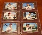 2016 Topps Throwback Thursday 6 Card Set Players to Watch 1955 Bowman TBT #1-6