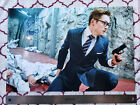 TARON EGERTON Signed 12x18 Photo KINGSMAN 'Eggsy