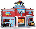 Lemax 25406 CRUISIN' CAFE Jukebox Junction Christmas Village Building '50s S O I