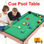 Mini Table Pool Table Game Billiard Board Play Cues Balls Set Kids Toys