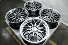 17 Wheels Prelude Lexus Es300 Es350 Gs300 Gs350 Is200T Is250 Is300 Black Rims