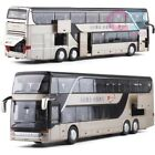 132 Alloy Diecast Double Decker Bus Setra Luxury Coach MPV Model Toy Car Gift