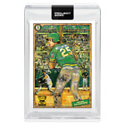 Topps Project 2020 #97 1987 Mark McGwire A's by Andrew Thiele in Hand w Box