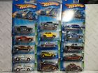 2005 Hot Wheels Treasure Hunt Complete Set of 15 w Both Corvettes  57 Chevys