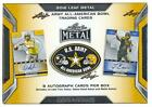 2016 LEAF US ARMY ALL AMERICAN FOOTBALL BOX 8 AUTOS METCALF FRANKS PATTERSON