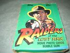 1981 Topps Raiders Of The Lost Ark Trading Cards-Full Box Of 36 Unopened Packs