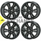 18 Chevrolet Blazer black wheels rims Factory OEM 2019 2021 set 4 5934