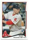 2014 Topps Update Series Baseball MOOKIE BETTS Rookie Card US-26 Dodgers Red Sox