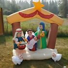 61FT Long Gemmy Airblown Inflatable Christmas Nativity Holiday Living 2009