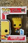 Funko Pop! The Simpsons Gamer Bart #1035 Gamestop Exclusive