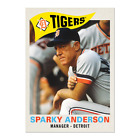 Top 10 Sparky Anderson Baseball Cards 18