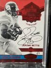 2016 Panini Plates and Patches Jerome Bettis HOF Canton On Card Auto 1 1 !! HOT