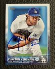 🔥 AUTO 2015 Topps Series 1 Clayton Kershaw Signed Autograph Los Angeles Dodgers