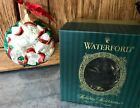 MIB 2001 Waterford 12 Days of Christmas 4 Calling Birds Glass Tree Ornament