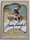 SANDY KOUFAX 2012 Topps Gypsy Queen Auto DODGERS HALL OF FAME HOF