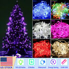 100 1000 LEDs Christmas Fairy String Lights Outdoor Indoor Xmas Party Lamp Decor